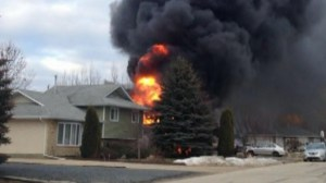 Family pet trapped in Lorette house fire escapes