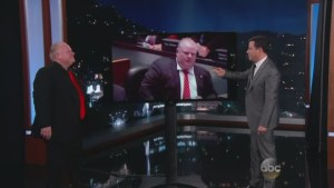 Toronto Mayor Rob Ford on Jimmy Kimmel: Pt. 2