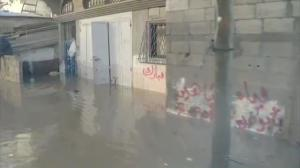 Raw video: Gaza City still battling floods following last week's extreme weather