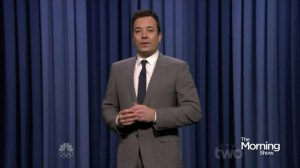 "Jimmy Fallon first appearance hosting ""The Tonight Show"""