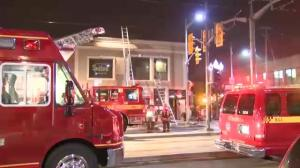 St. Clair Restaurant Fire