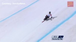 Silver & bronze for Canada in men's Paralympic downhill at Sochi