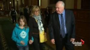 Madi Vanstone returns to Queen's Park pleading for drug treatment