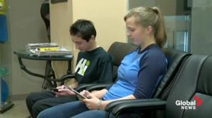Tablets and teenage posture