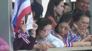 Raw video: Protests continue in Thailand