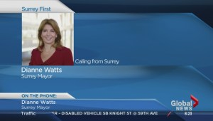 Surrey mayor responds to political bombshell