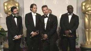 Brad Pitt jokes about his date after winning Oscar for Best Picture