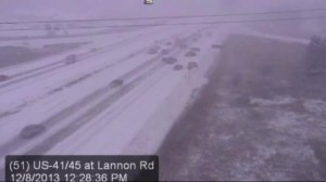 Massive pileup near Milwaukee caught on traffic cameras