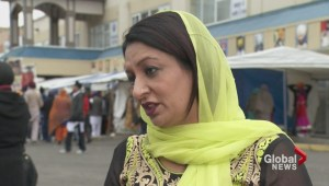 Political foes pound pavement at Vaisakhi