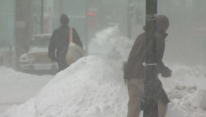 Raw video: Winter storm hits Newfoundland