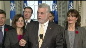 Quebec Liberals speak out against PQ's rebranded Charter of Values