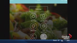 App supports healthy eating