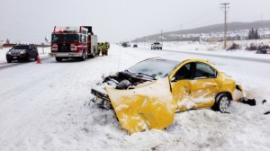 Trans-Canada Highway crashes