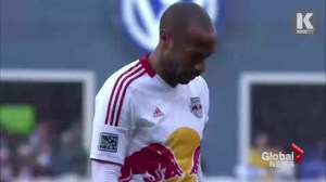 Caps ready for Red Bulls Thierry Henri