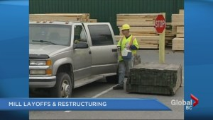 Recent restructuring at Western Forest Products
