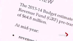 Mid-year budget report released