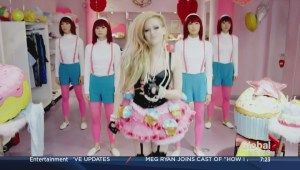 Controversy over new Avril Lavigne video