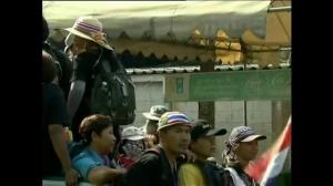 Opposition leader says protests in Thailand will continue regardless of election outcome