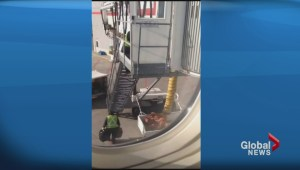 Abbotsford man captures video of luggage mishandling