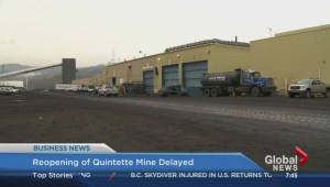 Reopening of Quintette Mine delayed