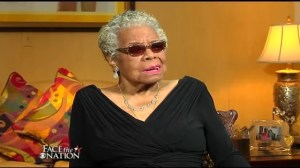 Poet Maya Angelou remembers Mandela