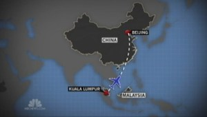 Search efforts underway for missing Malaysia Airlines plane