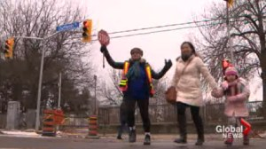 Dancing crossing guard to meet with police