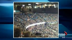 Oilers empty seats