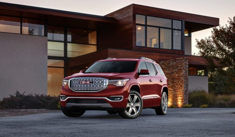 GMC Introduces All New 2017 Acadia