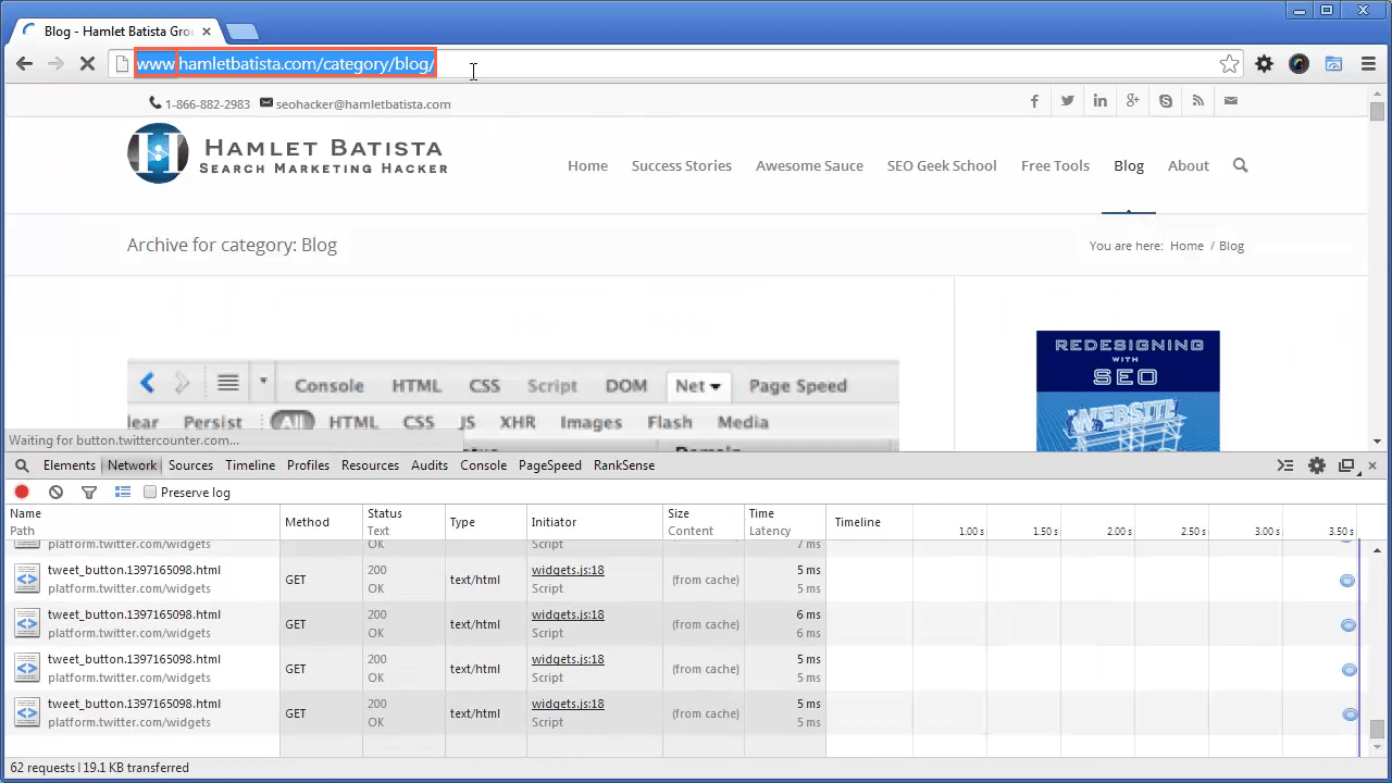 Redirect WWW to Non-WWW on Apache Step 4 - Notice URL