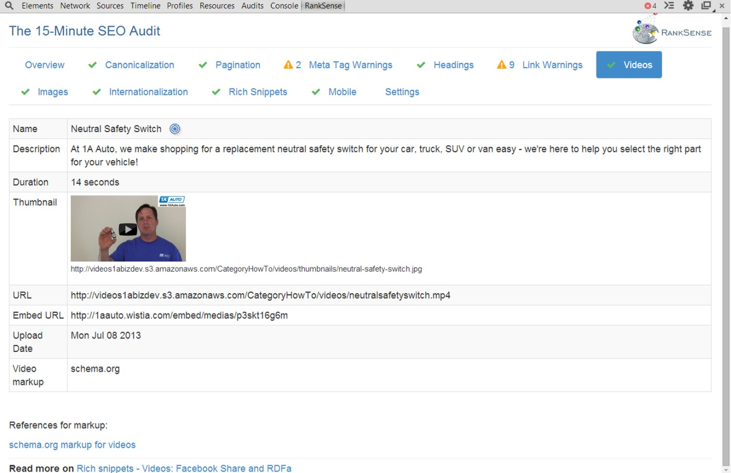 15 Minute SEO Audit Screenshot 5 Video