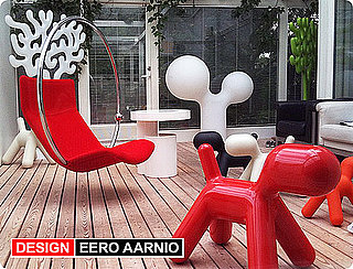 Eero Aarnio's Bubble, Flamingo and Pony