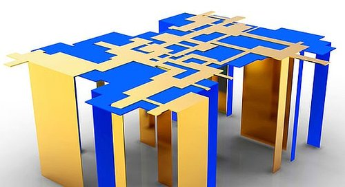 Abstract Tenoch Coffee Table