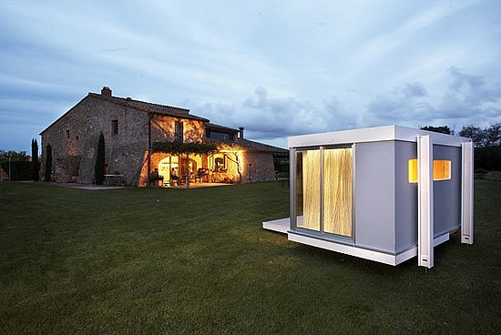 Modern cottage-style called Hobikken - comes in mini, junior and maxi sizes