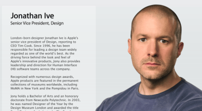 Following iOS 7 flattening, Apple changes Jony Ive's title to SVP, Design