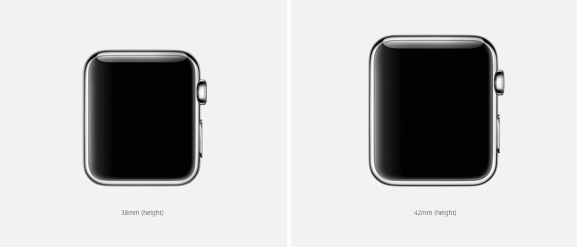 Apple Watch sizes