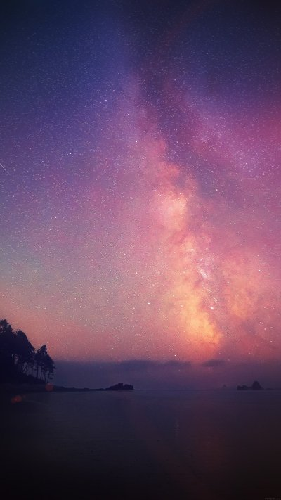 Gorgeous galaxy wallpapers for iPhone and iPad