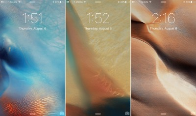 A look at the 15 new wallpapers in iOS 9 beta 5