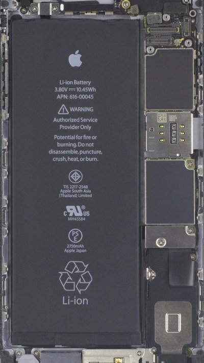 Wallpapers of the week: iPhone 7 internals