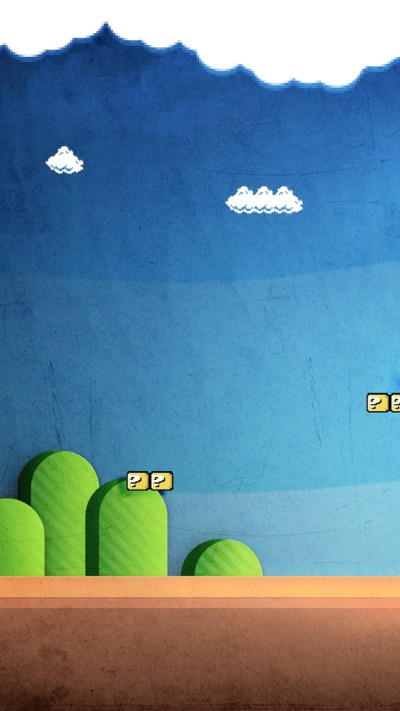 Super Mario wallpapers for iPhone