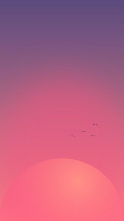 Minimal iPhone wallpapers