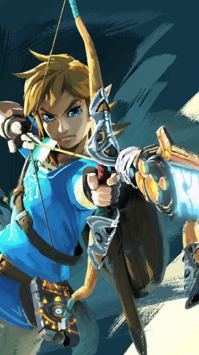 Legend of Zelda: Breath of the Wild iPhone wallpapers