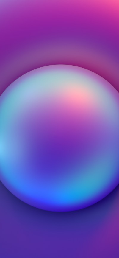 Abstract iPhone wallpapers created by Facebook's design team