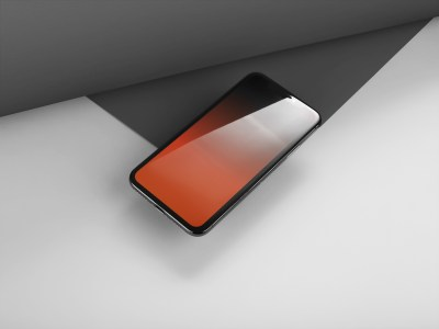 Notchless gradient wallpapers for iPhone X