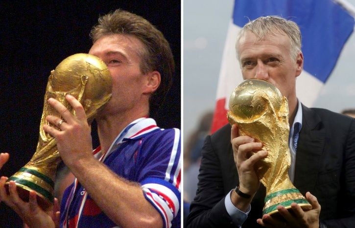 In 1998 Didier Deschamps Lifted The World Cup  20 Years Later It Was     Didier Deschamps is a happy man