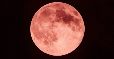 A Brilliant Strawberry Moon Will Be Visible In Night Sky Tonight, Where Moon Will Be Red Almost