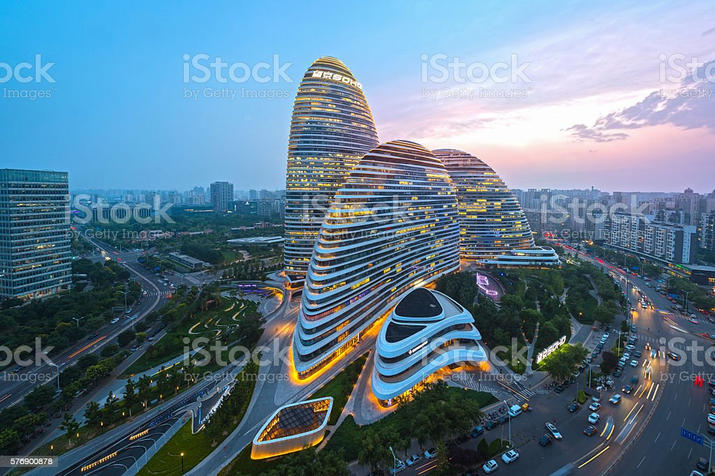 Royalty Free Beijing Pictures  Images and Stock Photos   iStock Beijing skyline at sunset stock photo