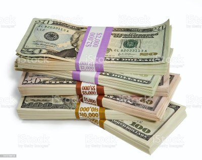 Stack Of Cash Stock Photo & More Pictures of Abundance | iStock