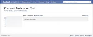 Outil de modération Facebook Comments
