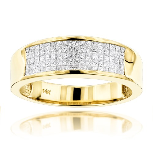 Medium Crop Of Mens Diamond Rings